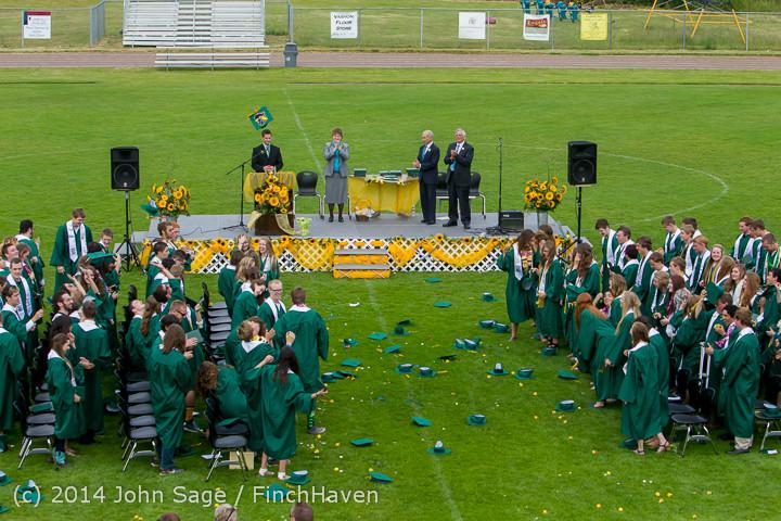 5047 Vashon Island High School Graduation 2014 061414