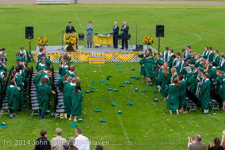 5053 Vashon Island High School Graduation 2014 061414