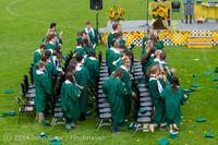 5055 Vashon Island High School Graduation 2014 061414