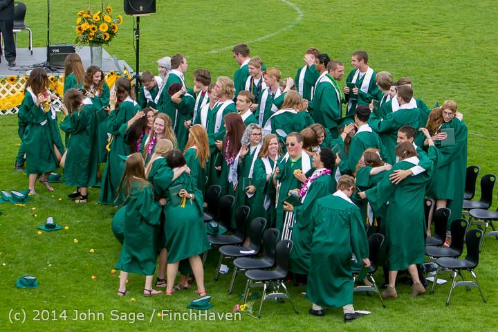 5067 Vashon Island High School Graduation 2014 061414