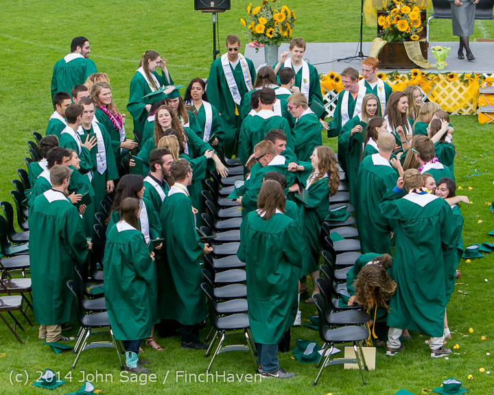 5075 Vashon Island High School Graduation 2014 061414