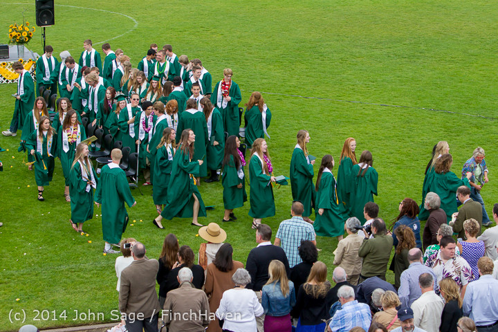 5094 Vashon Island High School Graduation 2014 061414