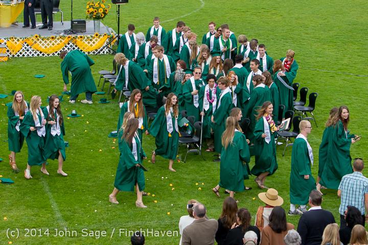 5097 Vashon Island High School Graduation 2014 061414