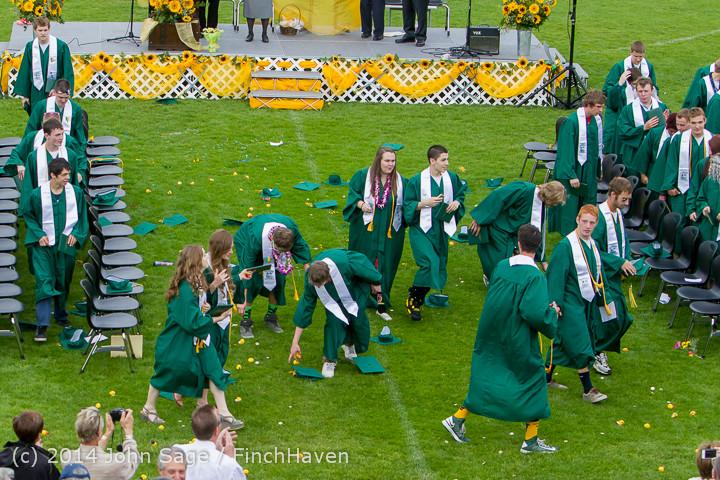5107 Vashon Island High School Graduation 2014 061414