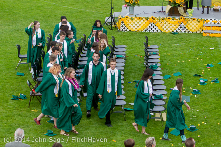 5111 Vashon Island High School Graduation 2014 061414