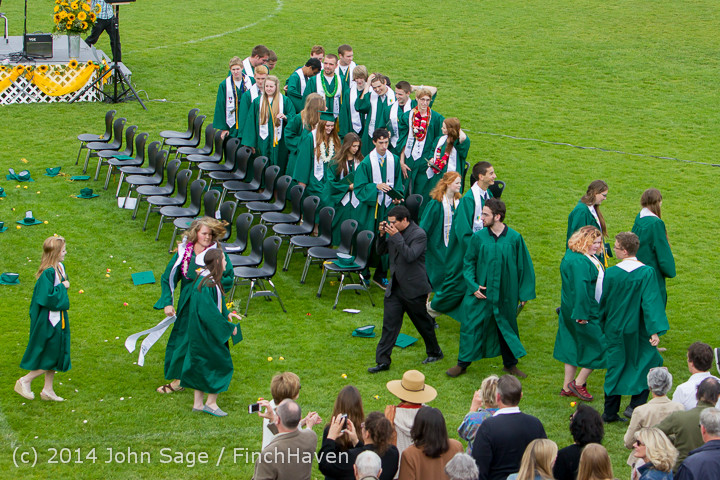 5121 Vashon Island High School Graduation 2014 061414
