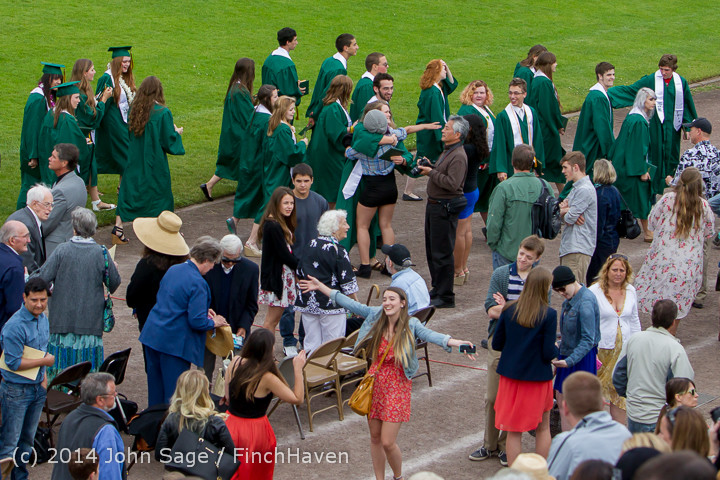 5135 Vashon Island High School Graduation 2014 061414