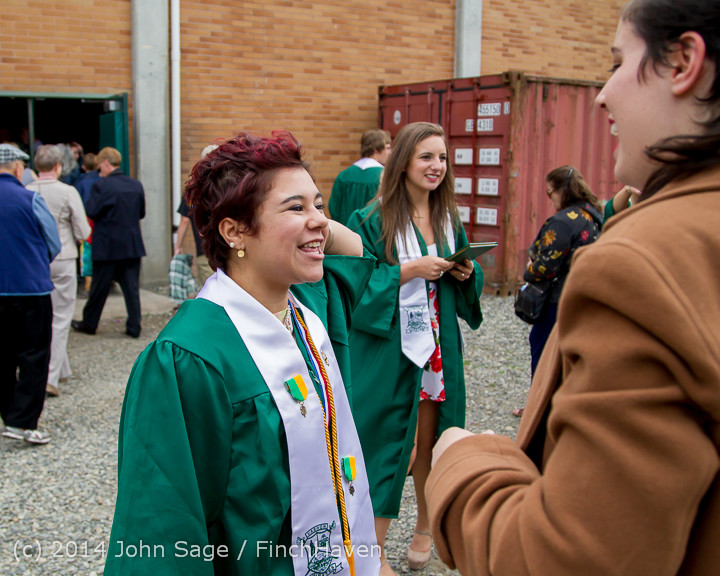 5146 Vashon Island High School Graduation 2014 061414