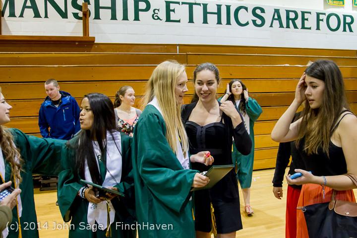 5215 Vashon Island High School Graduation 2014 061414