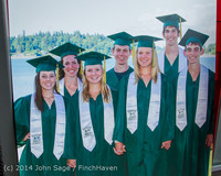 5240 Vashon Island High School Graduation 2014 061414