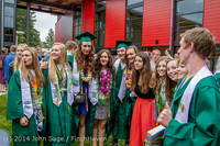 5367 Vashon Island High School Graduation 2014 061414