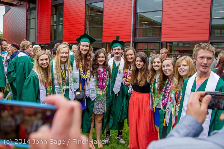 5382 Vashon Island High School Graduation 2014 061414