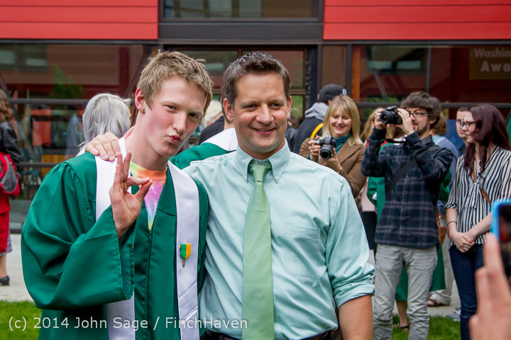 5393 Vashon Island High School Graduation 2014 061414