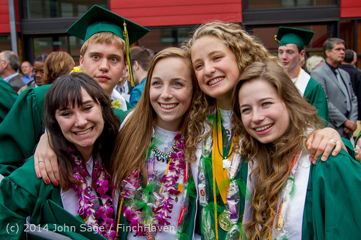 5415 Vashon Island High School Graduation 2014 061414