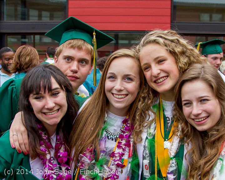 5417-a Vashon Island High School Graduation 2014 061414