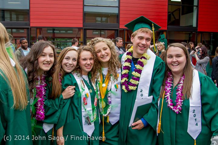 5432 Vashon Island High School Graduation 2014 061414