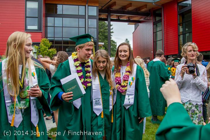5448 Vashon Island High School Graduation 2014 061414