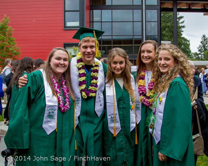 5456 Vashon Island High School Graduation 2014 061414