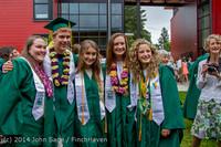 5457 Vashon Island High School Graduation 2014 061414