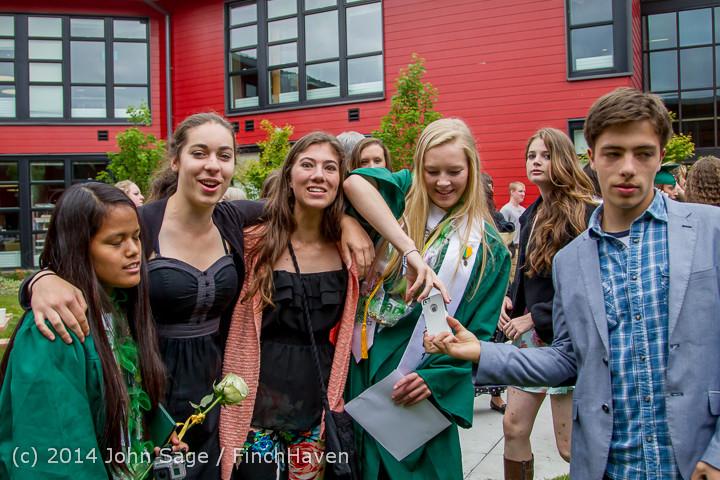5462 Vashon Island High School Graduation 2014 061414