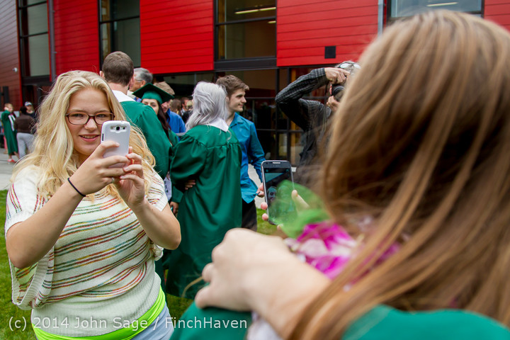 5466 Vashon Island High School Graduation 2014 061414