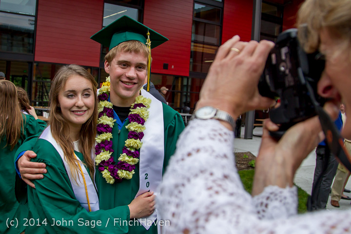 5501 Vashon Island High School Graduation 2014 061414