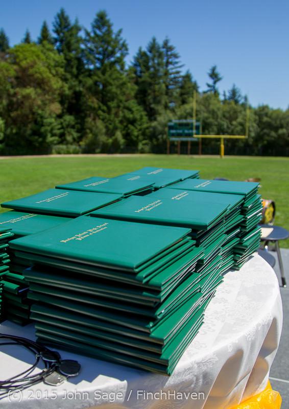 6320 Vashon Island High School Graduation 2015 061315