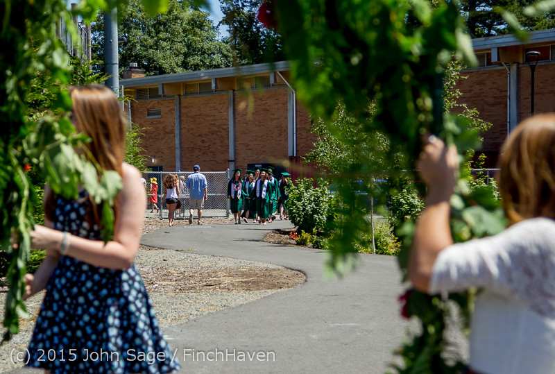 6346 Vashon Island High School Graduation 2015 061315