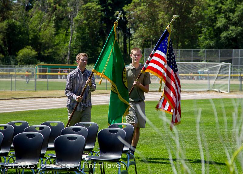6365 Vashon Island High School Graduation 2015 061315