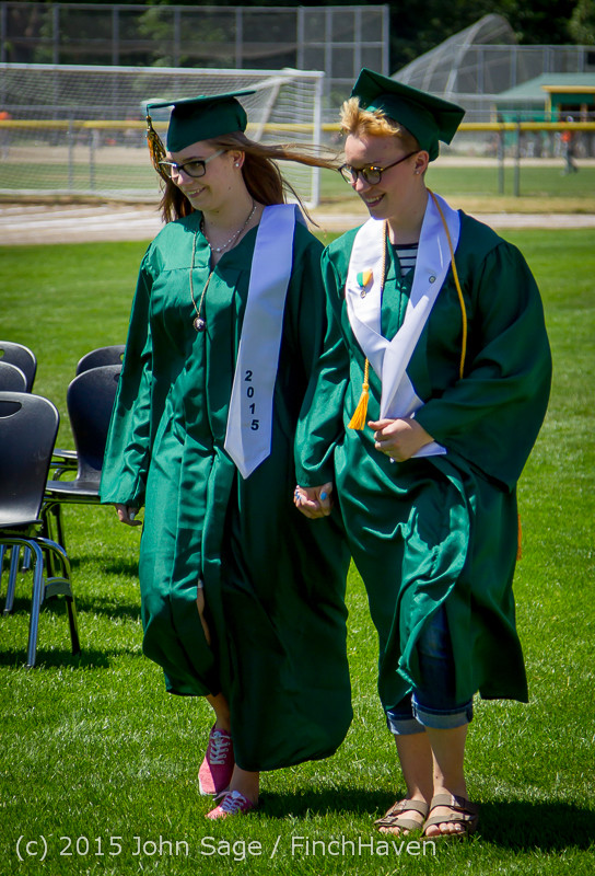 6373 Vashon Island High School Graduation 2015 061315