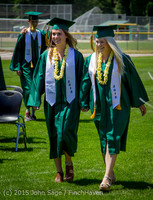 6390 Vashon Island High School Graduation 2015 061315