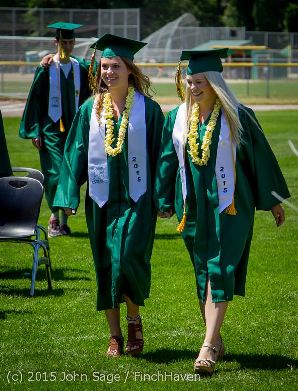 6390 Vashon Island High School Graduation 2015 061315