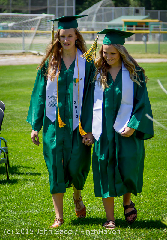 6414 Vashon Island High School Graduation 2015 061315
