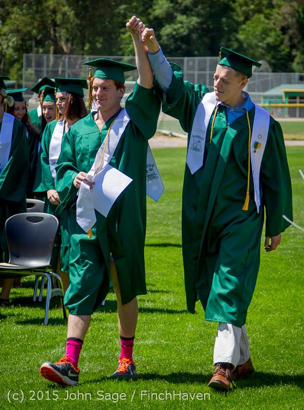 6422 Vashon Island High School Graduation 2015 061315