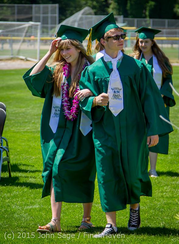 6458 Vashon Island High School Graduation 2015 061315