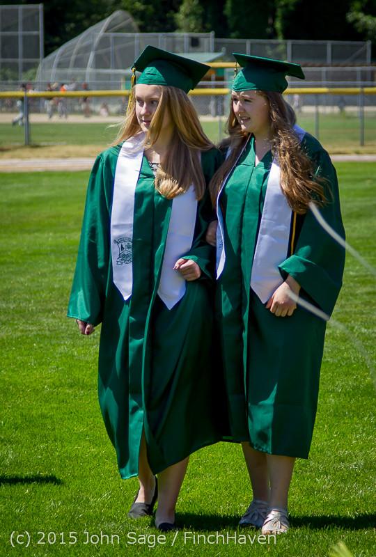 6460 Vashon Island High School Graduation 2015 061315