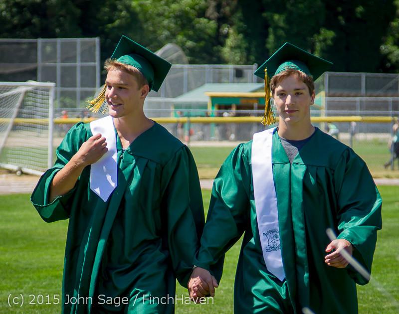 6467-a Vashon Island High School Graduation 2015 061315