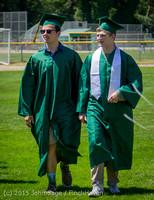 6519 Vashon Island High School Graduation 2015 061315