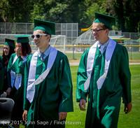 6564-a Vashon Island High School Graduation 2015 061315