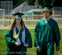 6566-a Vashon Island High School Graduation 2015 061315