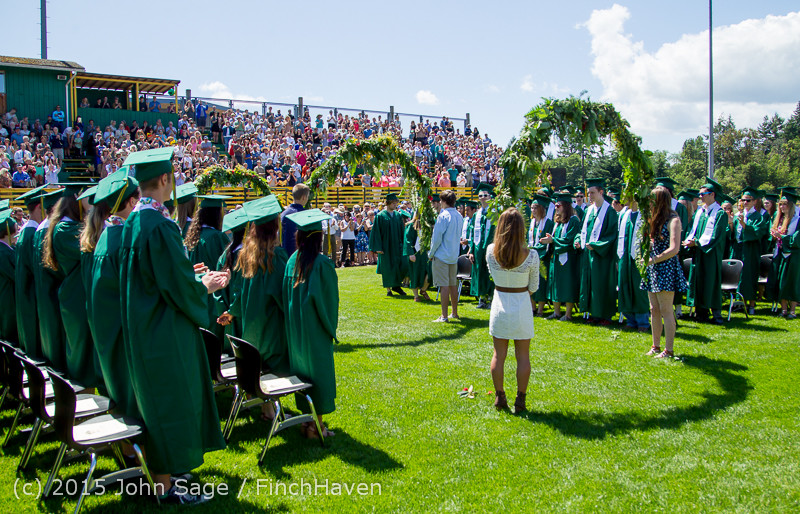 6571 Vashon Island High School Graduation 2015 061315