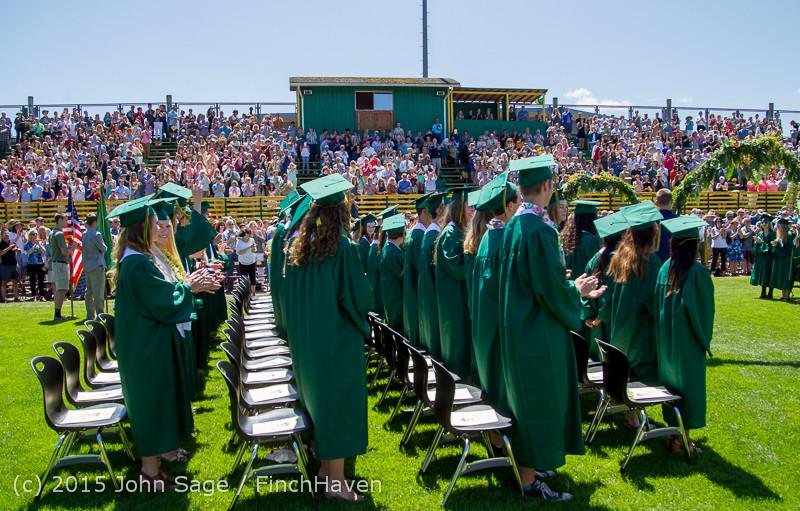 6573 Vashon Island High School Graduation 2015 061315
