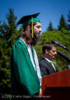 6583 Vashon Island High School Graduation 2015 061315