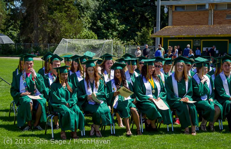 6594 Vashon Island High School Graduation 2015 061315