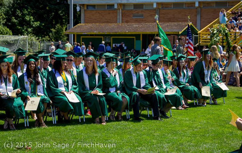 6595 Vashon Island High School Graduation 2015 061315