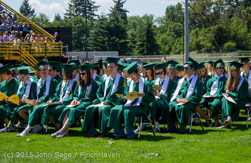 6598 Vashon Island High School Graduation 2015 061315