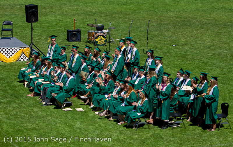 6632 Vashon Island High School Graduation 2015 061315