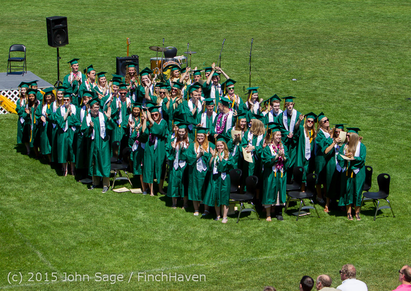 6660 Vashon Island High School Graduation 2015 061315