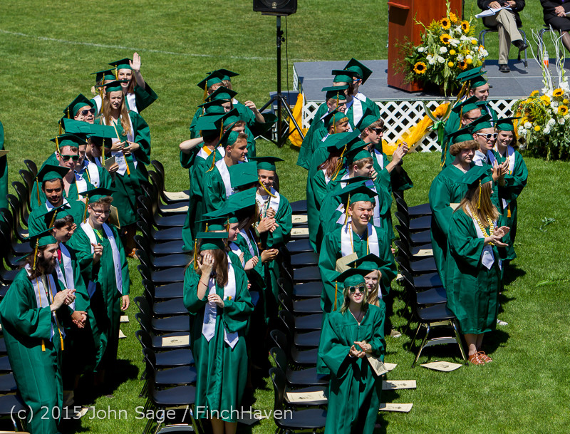 6666 Vashon Island High School Graduation 2015 061315
