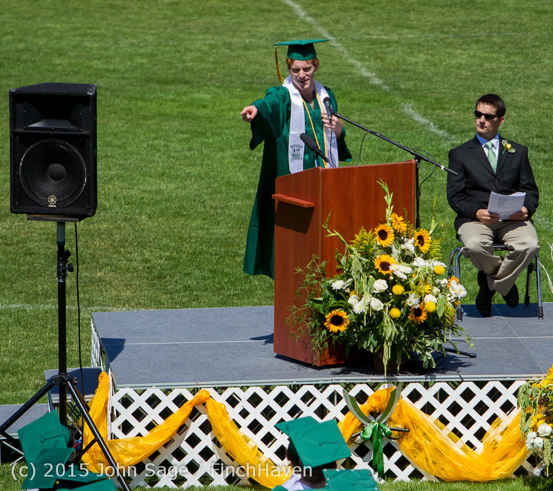 6718 Vashon Island High School Graduation 2015 061315